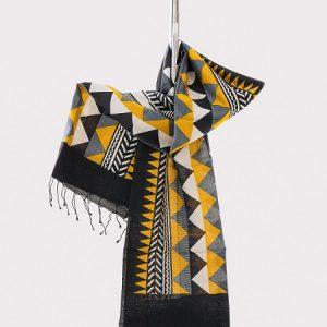 eri peace silk scarf