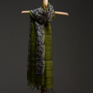 silk scarf organic