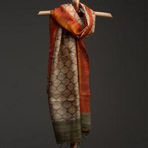organic silk scarf