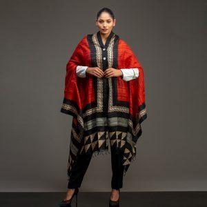 organic silk cape